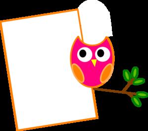 orange owl 2 clip art at clker com vector clip art online royalty rh clker com Wise Owl Clip Art Silhouette Owl Clip Art