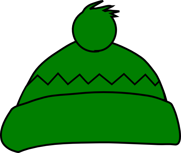 Green Winter Hat Clip Art At Clker Com Vector Clip Art
