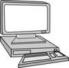 Desktop, Monitoring, Pc, Computer Clip Art