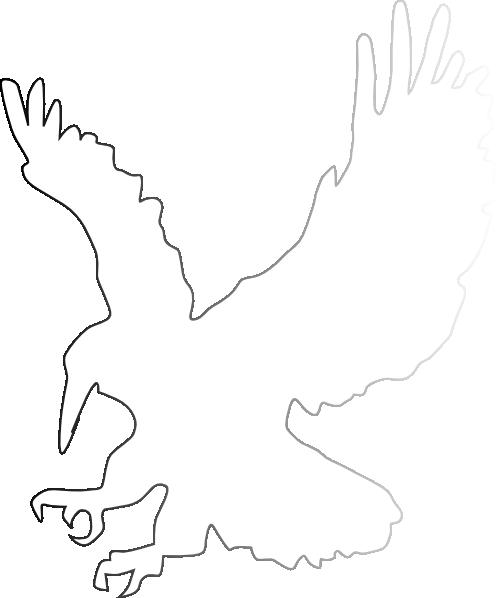 flying bird eagle clip art at clker     vector clip art online