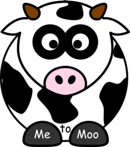 Me To Moo 2 Clip Art
