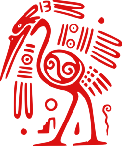 Ancient Mexican Motif Clip Art