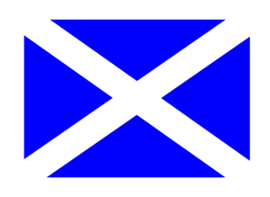 Scottish Flag Clip Art
