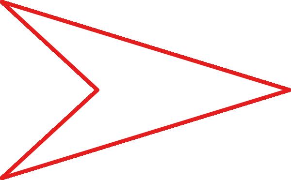 clipart arrow outline - photo #11