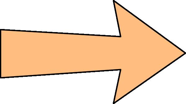 clipart arrow outline - photo #17
