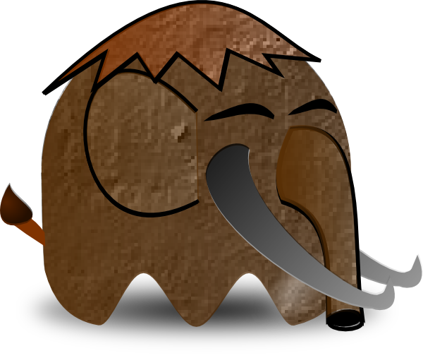 Cartoon Mammoth Clip Art At Clker Com Vector Clip Art