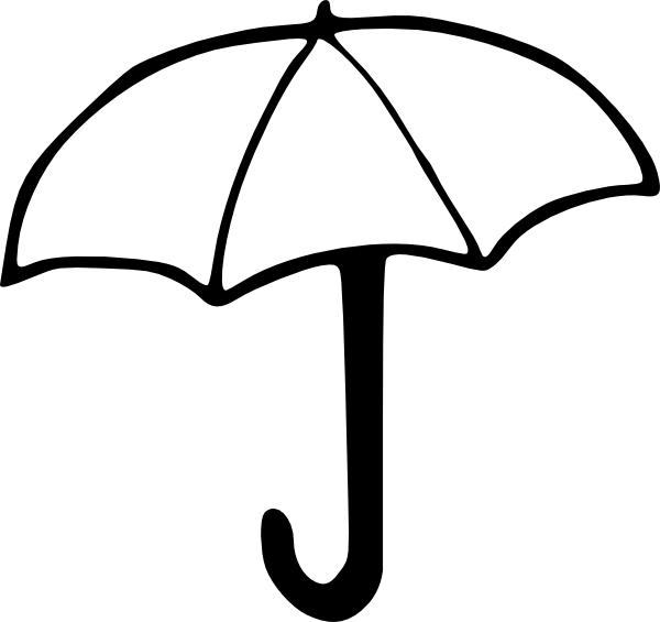 Umbrella Clip Art at Clker vector clip art online royalty – Umbrella Template