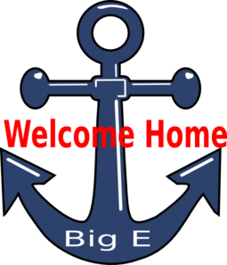 Welcome Home Anchor Clip Art