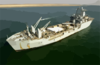 The Royal Fleet Auxiliary, Landing Ship Logistic Rfa Sir Galahad (l 3005) Arrives In The Iraqi Port City Of Umm Qsar 2 Clip Art
