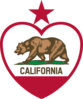 California Heart Clip Art