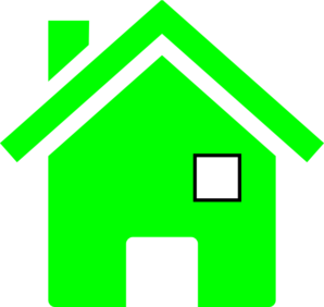 Upside Down House Clip Art