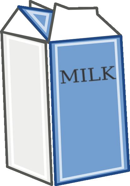 Milk Carton 2 clip art - vector clip art online, royalty free ...