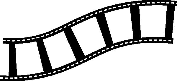 Sideways B W Film Strip Clip Art At Clker Com Vector