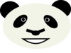Happy Panda Bear Clip Art
