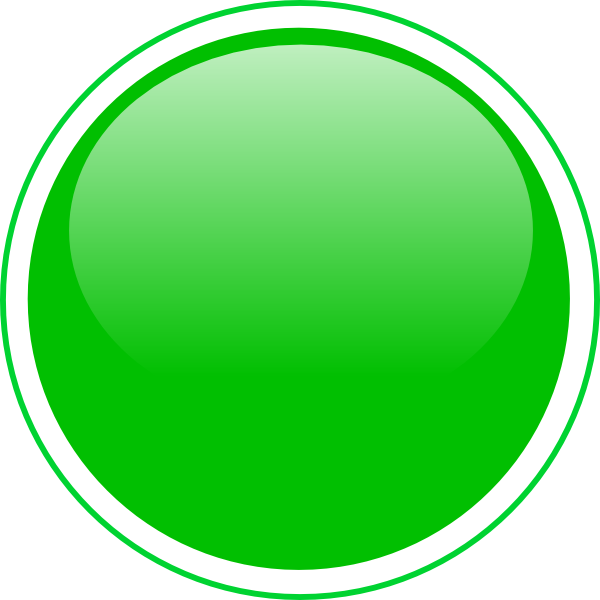 glossy green icon button clip art at clkercom vector