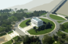 Aerial View Of The Lincoln Memorial In Downtown Washington, D.c. Clip Art