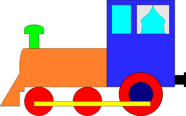 Clip Art Train Cars