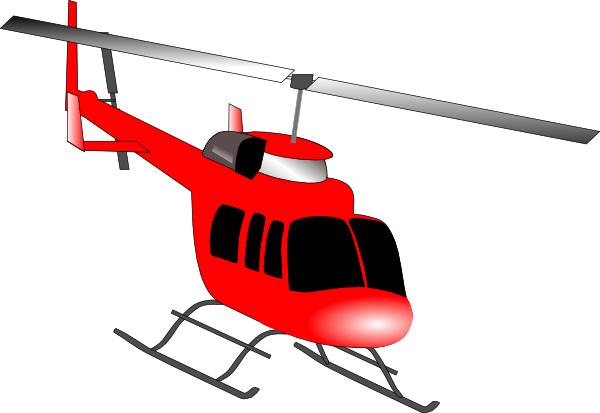 Helicopter Clip Art at Clker.com - vector clip art online, royalty ...