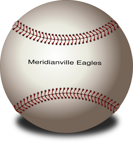 Merdianville Eagles Baseball Clip Art at Clker.com - vector clip art ...