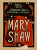Ernest Shipman Presents America S Leading Emotional Actress, Mary Shaw Clip Art