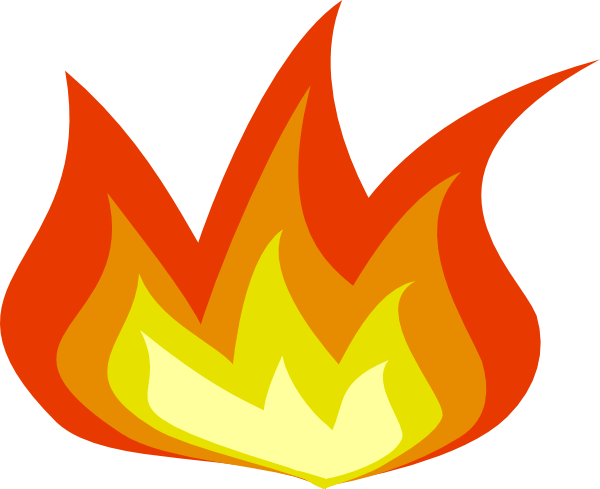 clipart flames of fire - photo #26