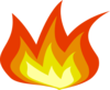 Small Flame Clip Art