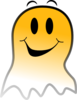 Ghost Smiley Clip Art
