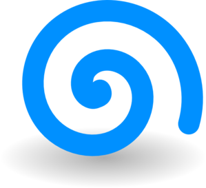 turquoise spiral clip art at clker com vector clip art online rh clker com swirl clipart images swirl clip art black and white