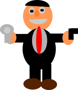Cartoon Spy Clip Art