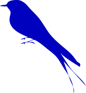 blue bird clip art at clker com vector clip art online royalty rh clker com Songbird Clip Art Free Cartoon Bluebird