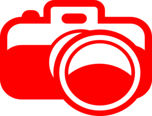 Red Camera Clip Art