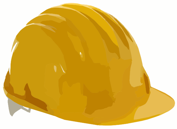 Clip Art Hard Hat Clipart hard hat 2 clip art at clker com vector online royalty download this image as
