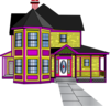 Aabbaart Car Game House #a-4 Clip Art
