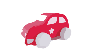 Wooden Toy Car Clip Art