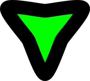 Disclosure Triangle Expanded Clip Art