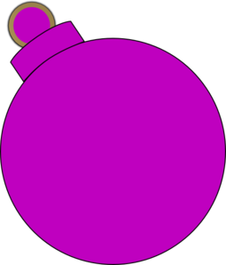 Pink Ornament Clip Art