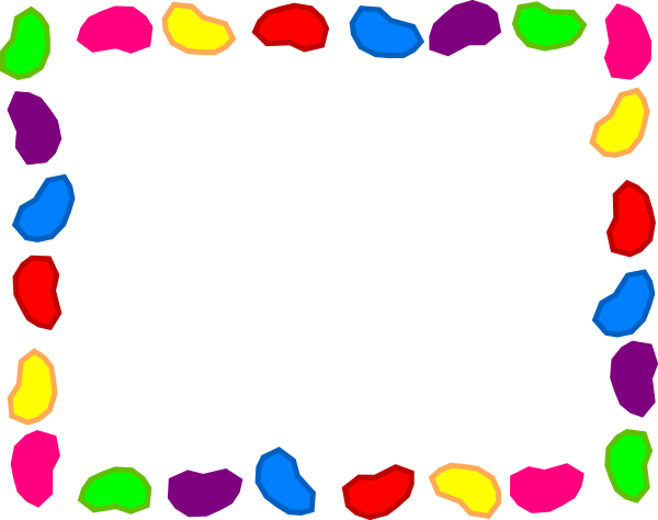 Jelly Bean Background Rainbow Clip Art at Clker.com - vector clip art ...