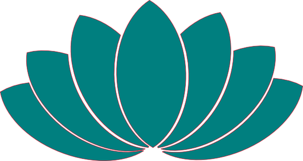 turquoise lotus clipart clip art at clker com vector clip art rh clker com lotus clipart png lotus clipart black and white