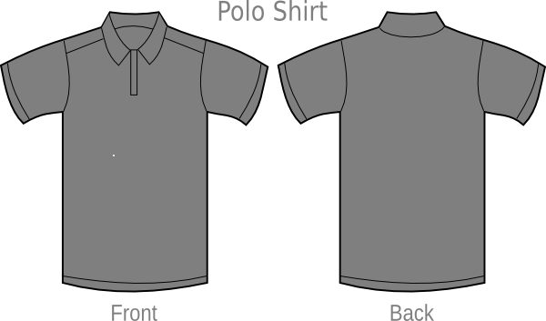 Polo Shirt Template @