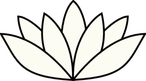Cream Lotus Clip Art