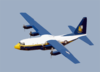 Fat Albert  Begins A Show For The U.s. Navy Blue Angels Clip Art