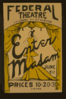 Enter Madam  [at] Federal Theatre, La Cadena And Mt. Vernon Clip Art