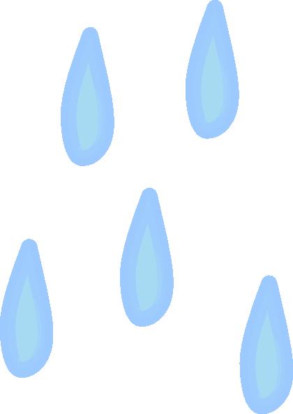 Raindrops Clip Art at Clker.com - vector clip art online ...