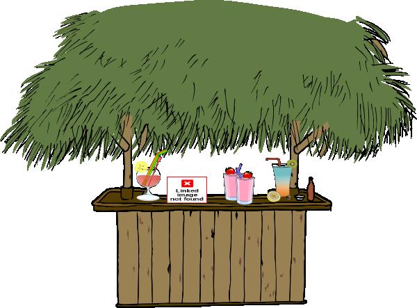 tiki bar with drinks clip art at clker com vector clip tiki hut clip art free tiki hut clipart