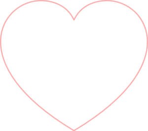 Baby Pink Heart Outline Clip ArtPink Heart Outline Png