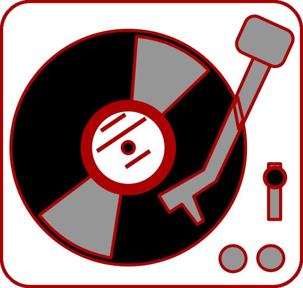 turntable clip art at clkercom vector clip art online