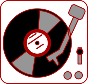 Turntable Clip Art