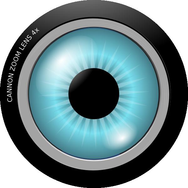 Eye Lens Clip Art at Clker.com - vector clip art online ...