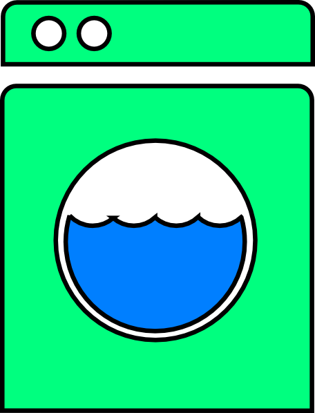 Washing Machine 4 Clip Art at Clker.com - vector clip art ...