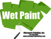 Wet Paint Sign Clip Art